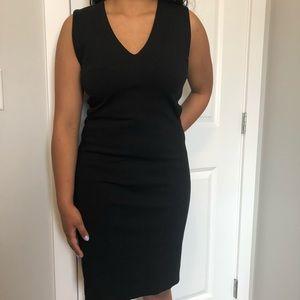 Babaton black dress, made with fine Italian fabric